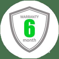 Celurix gibt auf die verbauten Ersatzteile 6 Monate Garantie.